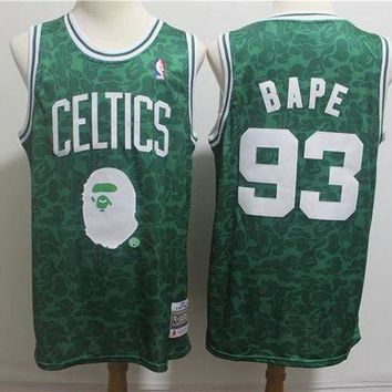 PEAP A Bathing Ape 93 x Celtics Swingman Jersey