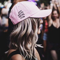 Anti Social Social Club Baseball Cap Hat