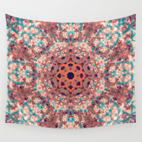 Fall Symphony Wall Tapestry by Sandra Arduini