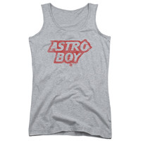 ASTRO BOY/LOGO-JUNIORS TANK TOP  -ATHLETIC HEATHER