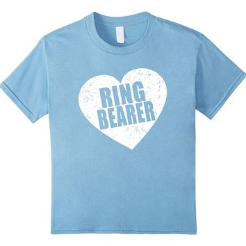 Big Heart Ring Bearer Tshirt by Scarebaby