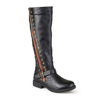 Journee Collection Tilt Knee-High Riding Boots - Wide Calf - JCPenney