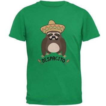 LMFCY8 Despacito Means Slowly Funny Sloth Pun Mens T Shirt