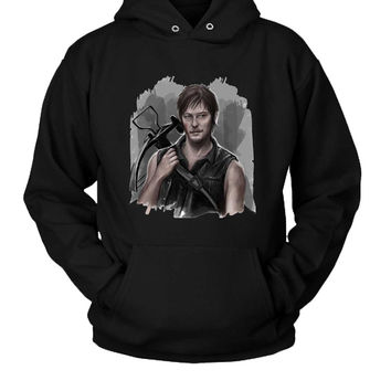The Walking Dead Daryl Dixon Sorry Hoodie Two Sided