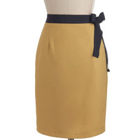 Dijon to Something Skirt | Mod Retro Vintage Skirts | ModCloth.com