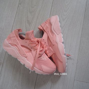 Pink Dust Huaraches.