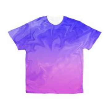 Soft Pretty Pink Purple Background Men's All Over> Soft Pretty Pink Purple> Bright Vibes Design