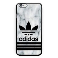 Adidas Logo White Marble Hot Cover 2017 for iPhone Case 6s, 7, 7 Plus