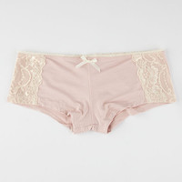 Lace Side Modal Boyshorts | Panties