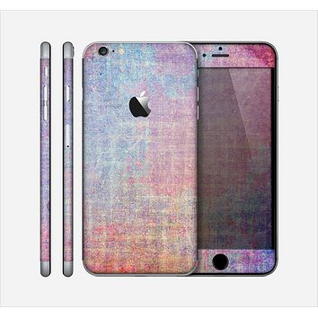 The Messy Water-Color Scratched Surface Skin for the Apple iPhone 6 Plus