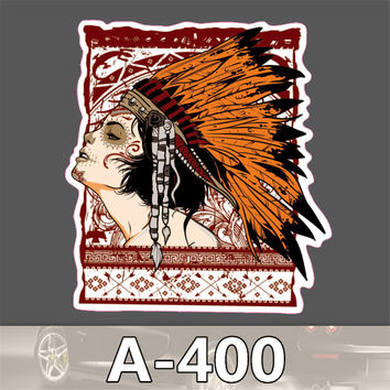 A-400 styling decor sticker on auto laptop sticker decal motorcycle fridge skateboard doodle stickers accessories