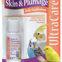 UltraCare Skin & Plumage Liquid Supplement for Birds - 1 oz