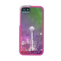 Seattle Space Needle Rainbow iPhone 5 Case
