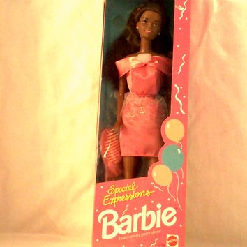RARE 1992 Special Expressions Barbie Collectible Doll (Limited Edition) - New