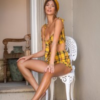 Amina Set - Yellow
