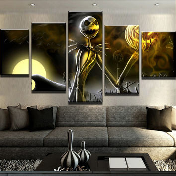 Jack Skellington Canvas Set
