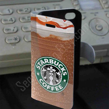 starbucks coffee PVC (syntetic) Leather Folio Case for iPhone and Samsung Galaxy