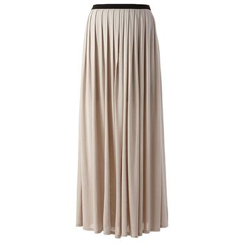 lc conrad pleated maxi skirt from kohl s style