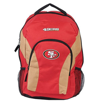 San Francisco 49ers NFL Draft Day Backpack