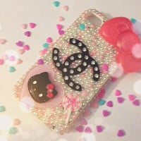 Iphone 4/4s case hello kitty case by MiniSweetAccessories on Etsy