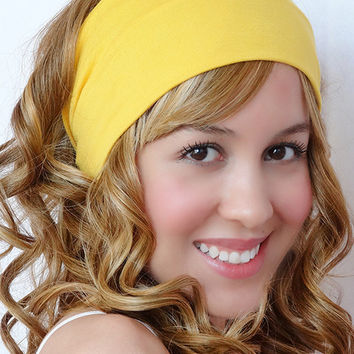 Wide Turban Stretchy Headband Hairwrap Bad Hair Day's Women's Teens Hair Accessories Yoga Workout Pilates Beach Boho Fitness Running