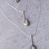 Opal Waterfall Necklace