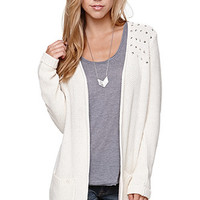 LA Hearts Studded Shoulder Cardigan at PacSun.com