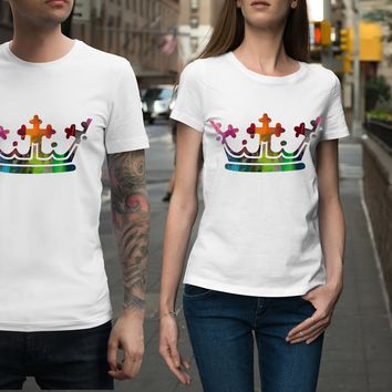 Rainbow Crown Unisex Shirt
