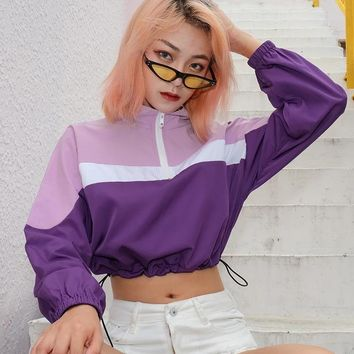 Purple Rain Crop Top