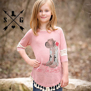 Southern Grace Kids Life Is Better in Boots