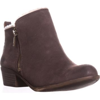 Lucky Brand Basel4 Ankle Booties, Java, 7 US