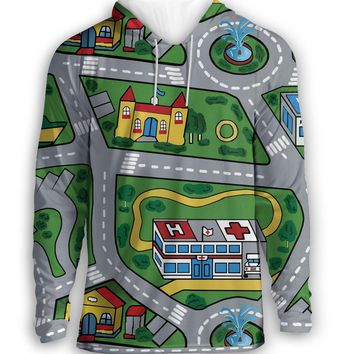 Car Carpet City Hoodie