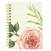 Practically Perfect In Every Way Floral Hard Cover Journal