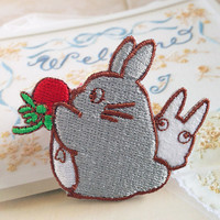 My Neighbor Totoro Patch Embroidered Animation Sew on Iron on Patches