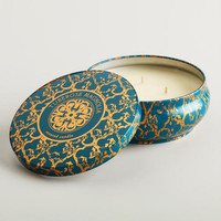 Tuberose and Magnolia Printed Candle Tin