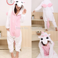 Cartoon animal costume unicorn Onesuits Pajamas adult  Pyjamas Unisex pijamas  ,sleepwear ,pajamas set