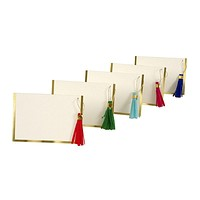 Colored Tassel Place Cards
