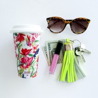 Floral Travel Coffee Mug