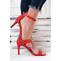 What If Heels (Red)