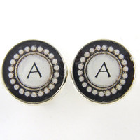 Men's Personalized Custom Initial Cuff Links