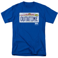 Outatime License Plate