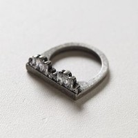 Cityscape Ring by Momo's March Silver One Size Jewelry