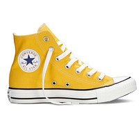 Converse Fashion Women Men Casual High Help Canvas Flats Sport Running Shoes Sneakers Yellow I