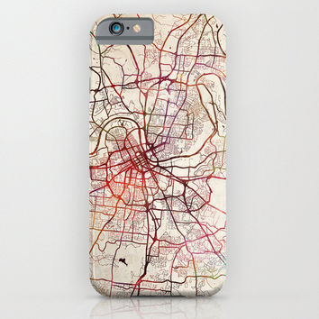 Nashville Tennessee Map iphone case, smartphone
