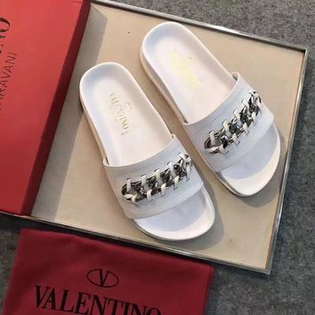 Valentino Women Fashion Casual Sandals Slippers