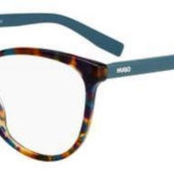 HUGO by Hugo Boss - Hg 0202 Green Havana Eyeglasses / Demo Lenses