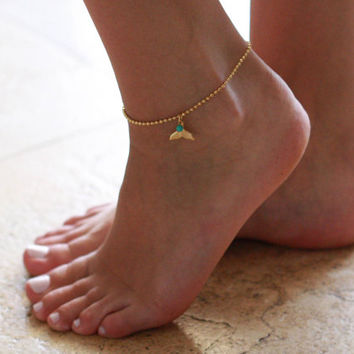 Gold Anklet - Multistrand Anklet - Gold Ankle Bracelet - Foot Jewelry - Foot Bracelet - Chain Anklet - Summer Jewelry - Beach Jewelry