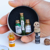 Harry Potter Miniature Potion Kit in Candy Tin for Small Christmas Birthday Gift or Stocking Stuffer