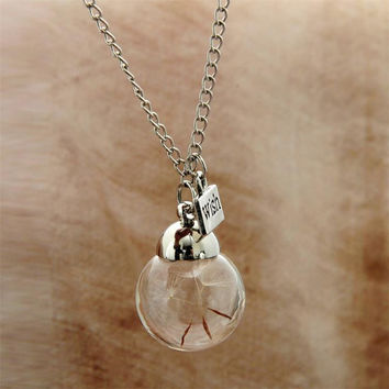 Jewelry Gift New Arrival Shiny Stylish Pendant Hot Sale Innovative Handcrafts Accessory Glass Necklace With Thanksgiving&Christmas Gift Box [9571981839]