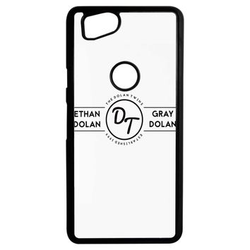 The Dolan Twins White Google Pixel 2 Case
